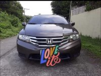 Silver Honda City 2013 for sale in Angeles City