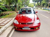 Red Honda Civic 2000 for sale in Quezon City