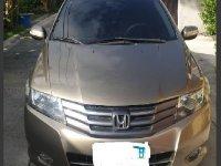 Beige Honda City 2010 Sedan at 95000 km for sale in Manila