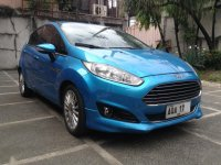 Blue Ford Fiesta 2014 for sale in Quezon City