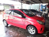 Pink Toyota Wigo 2016 for sale in Quezon City