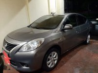 Silver Nissan Almera 2014 for sale in Malabon