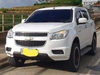 White Chevrolet Trailblazer 2014 for sale in Quezon City