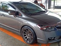 Silver Honda Civic 2009 for sale in Batangas