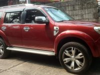 Red Ford Everest 2014 for sale in Cebu