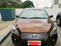 Sell Brown 2015 Suzuki Ciaz in Trece Martires City