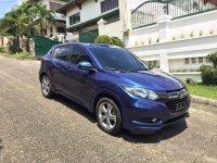 Blue Honda Hr-V 2017 for sale in Quezon City
