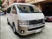 Sell White 2016 Toyota Hiace in Quezon City
