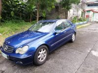 Sell Blue 2008 Mercedes-Benz C200 in Imus