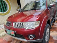 Red Mitsubishi Montero 2010 for sale in Quezon City