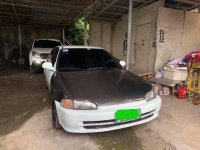 White Honda Civic 1995 for sale in Cavite