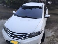 Sell White 2013 Honda City in Batangas