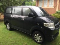 Black Suzuki APV 2012 for sale in Angeles City