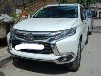 Sell White 2018 Mitsubishi Montero Sport in Quezon City