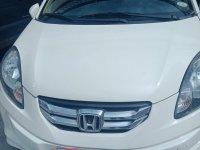 White Honda Brio Amaze 2016 for sale in Quezon City