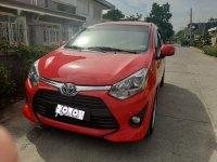 Sell Red 2018 Toyota Wigo in Tuguegarao