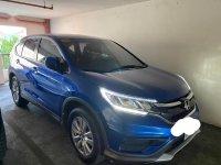 Blue Honda CR-V 2015 for sale in Manila