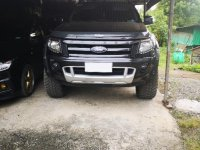 Black Ford Ranger 2015 for sale in Cabanatuan
