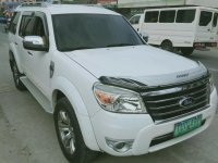 White Ford Everest 2012 for sale in Manila