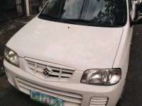 White Suzuki Alto 2013 for sale in Manila