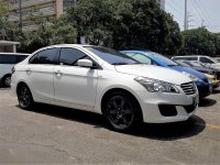 Pearl White Suzuki Ciaz 2017 for sale in Pasig