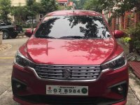 Red Suzuki Ertiga 2019 for sale in Quezon City