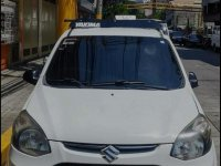 White Suzuki Alto 2013 for sale in Cavite
