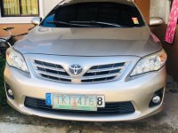 Silver Toyota Corolla Altis 2011 for sale in Batangas