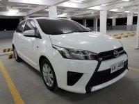 White Toyota Yaris 2014 for sale in Manila