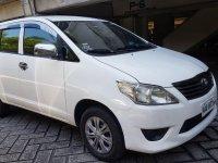 White Toyota Innova  2014 for sale in Caloocan