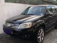 Black Ford Escape 2009 for sale in Angeles City