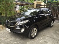 Black Kia Sportage 2012 for sale in Makati
