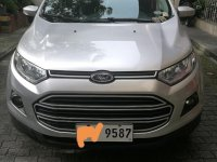 Silver Ford Ecosport 2017 for sale in Quezon City