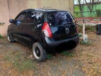 Black Hyundai I10 2009 for sale in Pasig