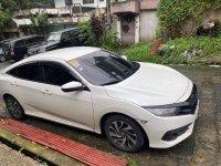 Selling White Honda Civic 2017 in Quezon City
