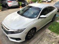 Pearl White Honda Civic 2016 for sale in Manila