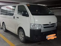 White Toyota Hiace 2019 for sale in Taguig