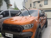 Orange Ford Ranger 2018 for sale in Manila
