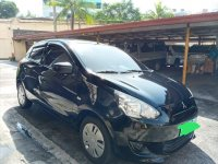 Black Mitsubishi Mirage 2013 for sale in Pasay City