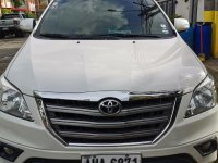 Selling White Toyota Innova 2015 in Rizal