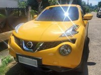 Selling Yellow Nissan Juke 2018 in Cebu