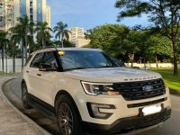 White Ford Explorer 2017 for sale in Manila
