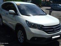 White Honda Cr-V 2015 for sale in Quezon City