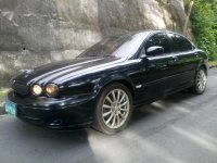 Selling Black Jaguar X-Type 2004 in Cebu
