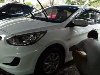 Sell White 2015 Hyundai Accent in Rizal