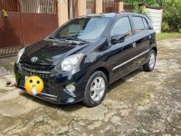 Black Toyota Wigo 2015 for sale in Calamba