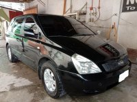 Black Kia Carnival 2008 for sale in Cebu City