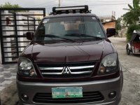 Red Mitsubishi Adventure 2010 for sale in Makati City