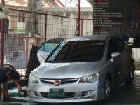 Silver Honda Civic 2007 for sale in Manila
