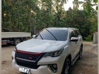 Selling White Toyota Fortuner 2019 in Santo Tomas